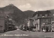 * MONTECASSINO - Cassino ed Abbazia 1954 Stazione Esso