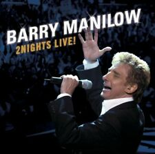 NEW Original CD Barry Manilow 2Nights Live!  2CD set The Walk To The Stage