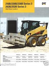 Equipment Brochure - Caterpillar - 216B et al - Skid Steer Loader - 2010 (E2111)
