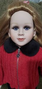 "My Twinn 23"" Doll 1997 Head 1999 Body With Outfit Long Orange Blond Hair"