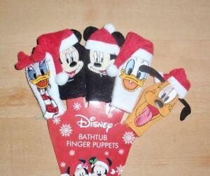 BNWT Primark Disney character childrens bath time finger wash mit