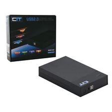 "CIT 2.5"" and 3.5"" USB 3.0 Sata Tooless HDD Caddy Enclosure M35TU3 - Black"