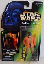 """Star Wars 3 3/4"""" POTF Ponda Baba Black Beard Collection 3 Green Card MOC!"""