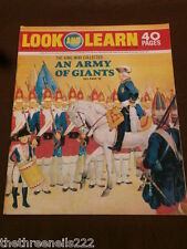 LOOK and LEARN # 444 - ARMY OF GIANTS - JULY 18 1970