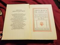 The Golden Ass By Apuleius 1932 Hb