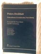 Peters Dreiblatt: Föderalismus   Grundrechte   Verwaltung (2010, Taschenbuch)