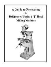 Rebuild Manual For 1hp Bridgeport J Head Mill