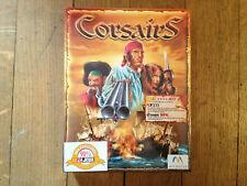 Corsairs STR/RTS/stratégie PC FR Big Box boite carton NEUF/NEW/Blister 1999