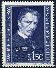 AUTRICHE HUGO WOLF N° 818 NEUF ** SANS CHARNIERE