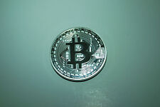 bitcoin physical commemorative coin silver plated 1oz
