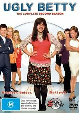 Ugly Betty - Season 2 (DVD, 5 Disc Set)  R4