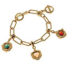 New Rebecca 2.03ctw Hydro Stone Charm Bracelet
