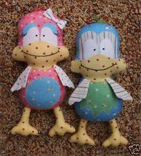 MELLY & ME TWITTER BIRDIE SOFT TOY PATTERN