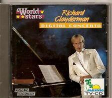 RICHARD CLAYDERMAN  World Stars Digital Concerto BELGIUM CD ALBUM free ww ship!