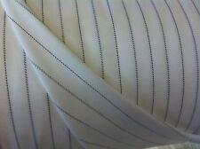 Cream 100% Cotton striped Apron/Shirt Fabric. Price per metre!