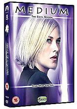 Medium - Season Series 6- Complete   5-Disc  Box Set     New   Fast   Post