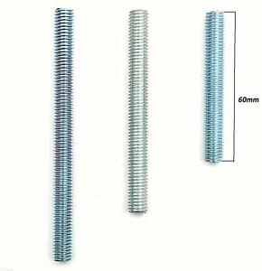 10x Gewindeende 0,50€ / Stück Gewindeverlängerung Gewindestange M8 60mm verzinkt