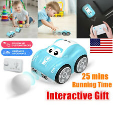Remote Control Car for Kids Baby Toddlers Cartoon RC Race Car Interactive Toys