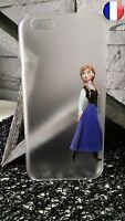 Case Plastic Rigid Apple IPHONE 4 - Anna for Frozen Disney