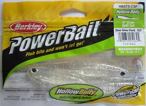 3 X Berkley Powerbait 13 CM Hollow Belly Color CSF Artificial Rubber