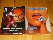 PLAYBOY 1974/1=ITALIA=MODEL VERUSCHKA=BARBARA BOUCHET=NANCY CAMERON=MORAVIA A.=