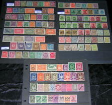 Germany Inflation Issues 1921-1923 Collection mint 136 diff stamps
