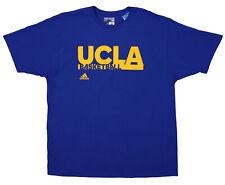 Adidas NCAA Mens UCLA Bruins Basketball Go-To Tee, Blue 2XL