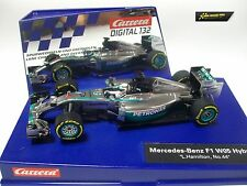 "Carrera Digital 132 Mercedes-Benz F1 W05 Hybrid ""L.Hamilton, No.44"" 30733"