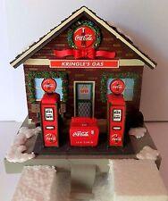 RARE COCA COLA stocking holder station pompe essence diner résine