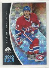 2010-11 SP Authentic Hockey HoloFX - #27 - Brian Gionta - Montreal Canadiens