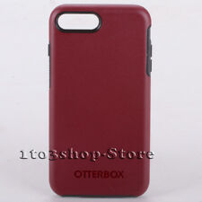 OtterBox SYMMETRY Hard Cover Case For iPhone 7 iPhone 8 Fine Port Red/Grey Used
