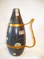 RAR! LIPP MERING  Keramik Lampenfuß mit Metallmontierung, LU KLOPFER, 60er