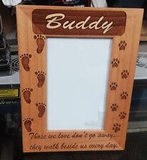 4 X 6 Custom Dog Memorial Picture Frame