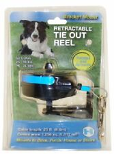 Lixit, Medium, Retractable Dog Tie Out Bracket Mount, For 30- 80 LB Dogs.