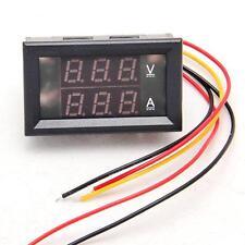 DC 4.5-30V 0-50A Dual LED Digital Volt meter Ammeter Voltage AMP Power