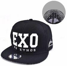 EXO Snapback Cap Visor for Men (black/white)