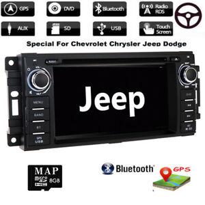 Autoradio GPS Navi BT DVD USB Für JEEP Chevrolet Epica Jouruney Wrangler DODGE