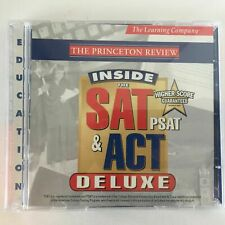 The Princeton Review Inside The Sat Psat & Act Deluxe