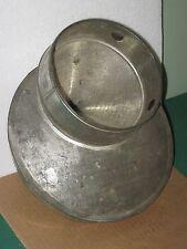 Antique Farm Milk Jug Can Dairy Metal Lid Cone STRAINER Cream EUREKA Pat