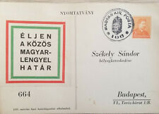 J) 1972 HUNGARY, LIVE THE COMMON HUNGARY POLAND BORDER, CIRCULATED COVER, FROM H