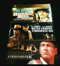 Buffalo Bill & The Indians+Butch Cassidy & Sundance Kid+Hombre Dvd's Paul Newman