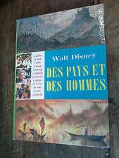 Des pays et des hommes / Walt Disney / d'après le film people and place / 1961
