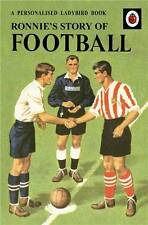 Personalised 'Football' Childrens Licenced Ladybird Story Book