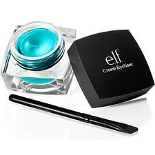 ELF CREAM EYELINER WITH BRUSH - TEAL TEASE - SMUDGE PROOF SEALED - IN BOX