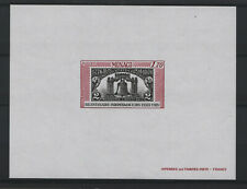 """MONACO YVERT SPECIAL M / SHEET 9 a """" INDEPENDENCE USA 1976 IMPERF """" MNH VF  T808"""