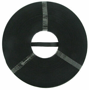 12 mm Polyester Boning Tape Black 2 Rolls 80 meter