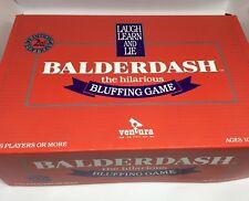Balderdash Board Game - 2nd Edition - 100 % Complete - Very Good Condition Rare