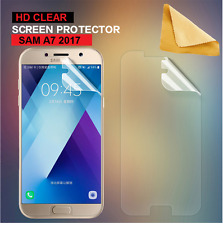 Ultra Clear LCD Screen Protector Cover Guards For Samsung Galaxy A7 (2017) Phone