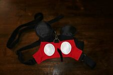 disney mickey mouse dog harness with leash