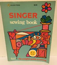 Vintage Singer Sewing Book by Jessie Hutton and Gladys Cunningham 1972, Revised